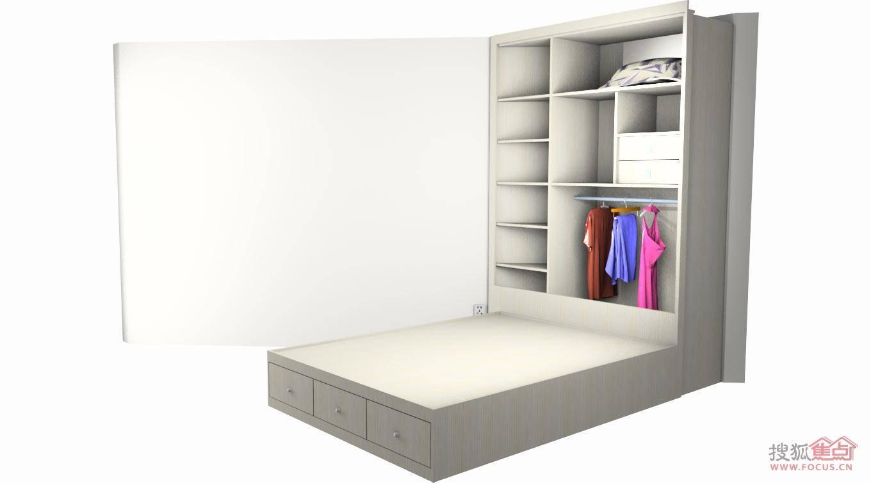 定制奇迹:50㎡户型梯形空间衣柜设计方案出炉