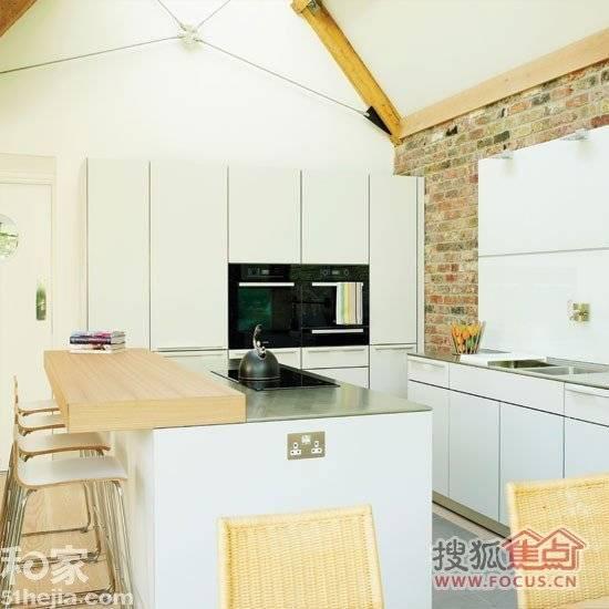 厨房家居装修图 12种小户型厨房创意收纳方案