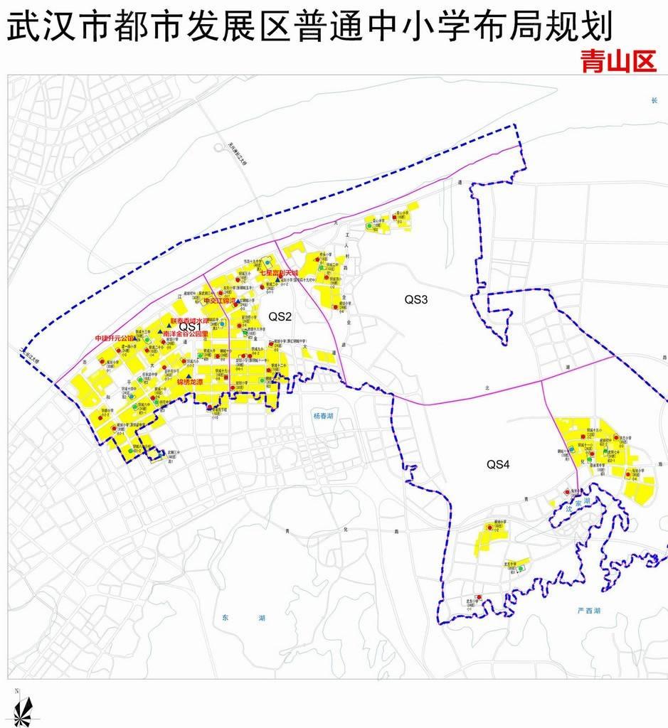 青山是武汉的老工业区及居住区,偏安一隅,房地产开发一直不温不火.图片