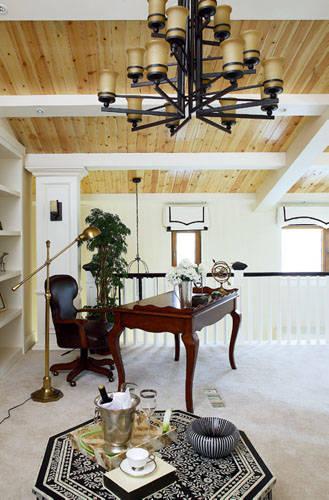 现代美式风格 现代别墅vs简约公寓图片