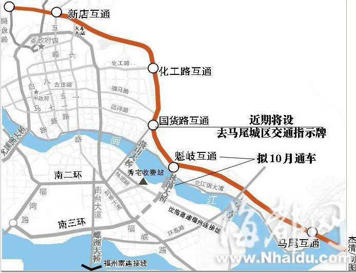 洋根隧道至徐斗村地图