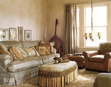 美式乡村风格完美客厅