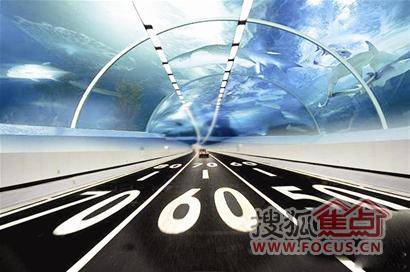 翔安隧道画成海底世界好吗?
