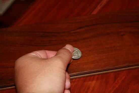 测评:安信重蚁木实木地板