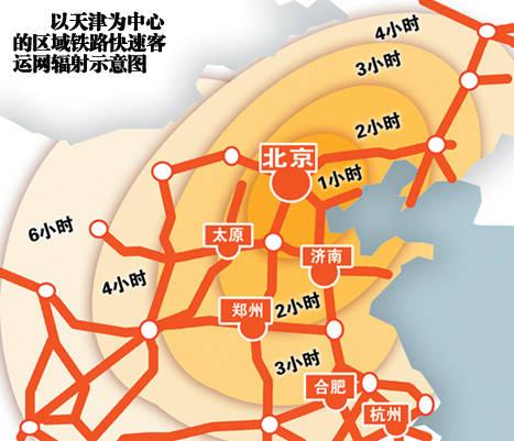河北省高铁铁路地图