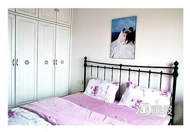 师小夫妻 砖砌电视墙 自制地中海美屋