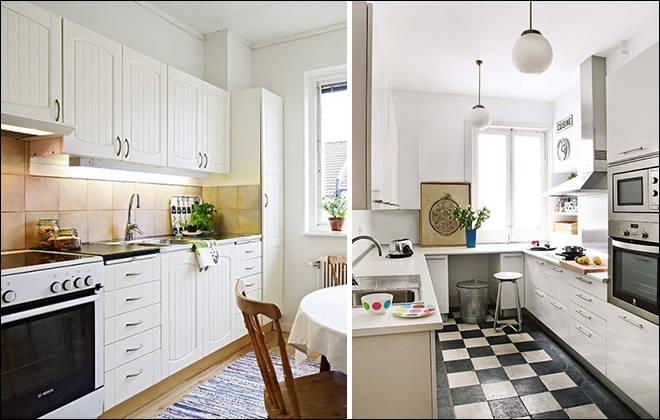 厨房装修案例,小户型厨房,开放式厨房案例,餐厨一体设计案例