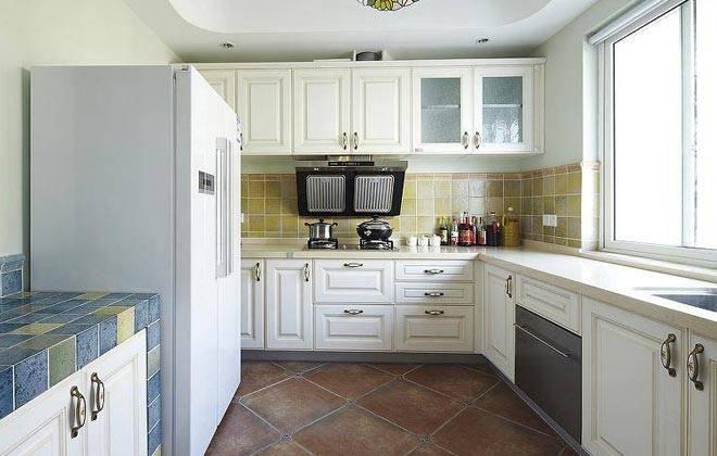 厨房装修垃圾桶位置图