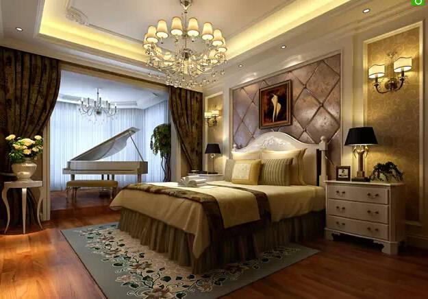 最有创意的欧式卧室装修设计效果图欧式风格装修一般具有大气、奢华、尊贵、浪漫等等特点,现在已经被广泛应用到别墅家具、酒店家具、样板房家具等等。欧式的卧室有的不只是豪华大气,更多的是惬意和浪漫:通过的典线,精益求精的细节处理,带给家人不尽的舒服触感,实际上和谐是欧式风格的境界。今天就让我们一块来欣赏几款欧式风格卧室装修效果图片,感受一下惬意浪漫的欧式风格卧室吧。欧式风格装修一般具有大气、奢华、尊贵、浪漫等等特点,现在已经被广泛应用到别墅家具、酒店家具、样板房家具等等。欧式的卧室有的不只是豪华大气,更多的是惬意