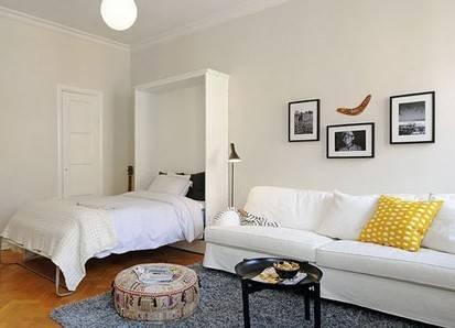 60平一居室小户型装修