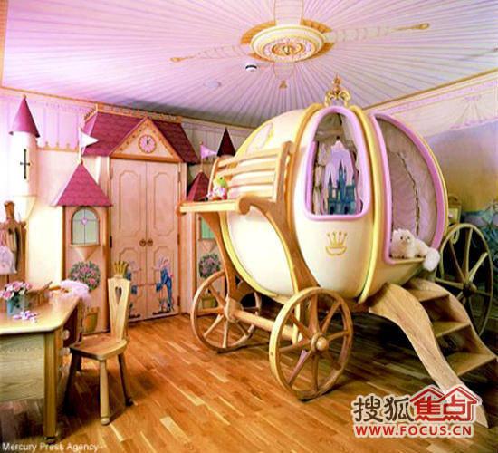 经典动漫儿童房设计 为孩子打造梦幻国度