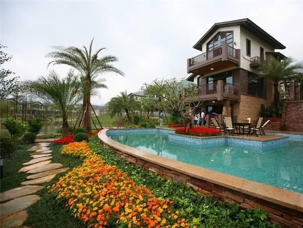 碧桂园清泉城主推推公寓,别墅 享3万及5万优惠