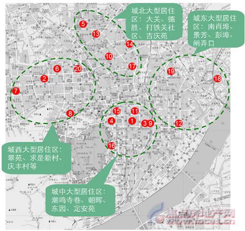 青岛市北区地图全图百安居