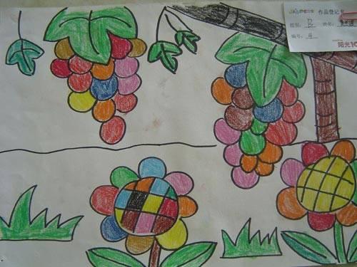 《小脚印 大生活》幼儿绘画比赛获奖名单