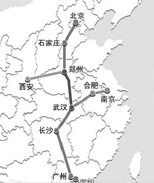 武汉至宜昌高铁,广州至深圳高铁