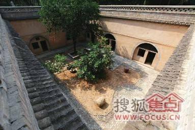 古建筑 木质结构 排水渠