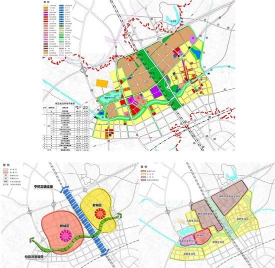 根据规划用地布局结构和交通分析,规划城市道路分为快速路、主干道、此感到、支路四个等级,另外规划两个三级客运车站,东西城区各一个。   在产业空间布局规划中,农业示范区分为龙都南、周岗南和湖熟东三片,工业区则有湖熟工业区、龙都先进制造业园区、高新企业孵化基地及周岗地方特色产业园区。交通方面,则统筹整改全域未来发展趋势,规划将形成六横,五纵的主干路骨架,其中六横指南京三环快速路、汤铜路、纬二路、纬七路、纬九路、S324六条东西向道路;五纵则是指陵园路、龙眠大道、宁溧公路、龙经七路、湖经二路,五条南北向道