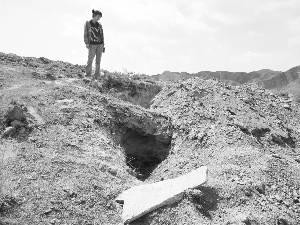 甘肃白银一新石器时代古墓群图片