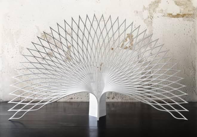 uufie设计工作室创意家具设计 孔雀椅