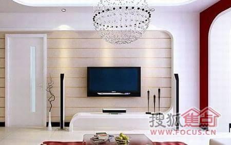 2012最流行电视背景墙装修图片