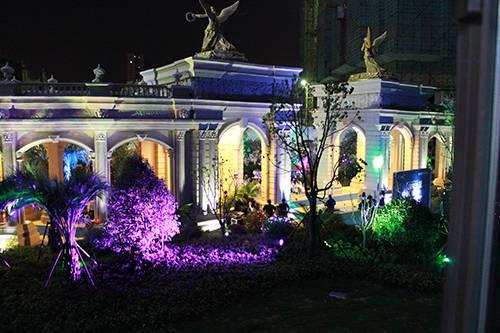 财富公馆欧式雕塑喷泉