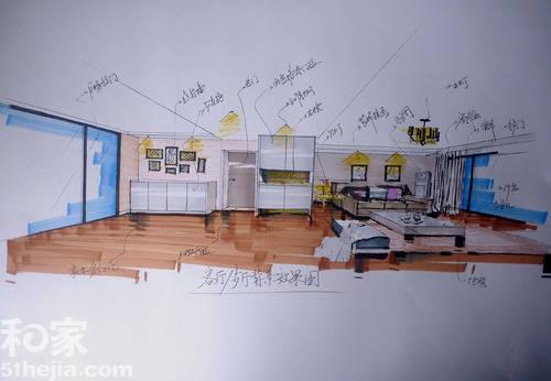 来源:和家网导语:85平米的房子装修出120平米房子的大气与