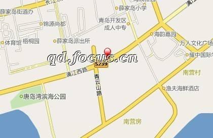 唐岛湾滨海广场位于开发区政府南,唐岛湾滨海公园中段,占地150亩,集