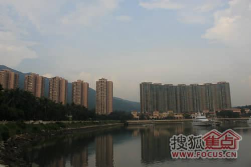 如今海景国际已配有超五星级锦江国际大酒店,海景国际天域高尚住宅