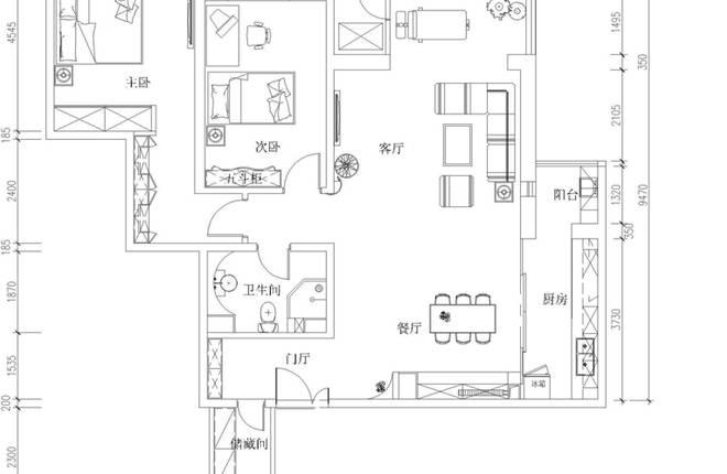 项目名称:怡海花园 设计风格:现代简约 设计单位:实创装饰集团 整体家装:装修一口价、闭口合同 家装类型:88系 施工工期:35天 工程面积:80平米 房屋类型:2室2厅1厨1卫 88系整体造价:65088元(设计+硬装) 设计说明: 生活离不开艺术,简约大气的空间传递着浓烈的生命力。客厅电视墙利用石材.