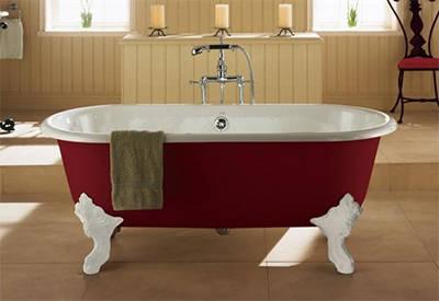 科勒铸铁浴缸-歌莱独立式浴缸