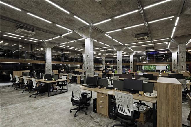 林琮然 侯正光:一起设计办公室 工业老厂房改造图片