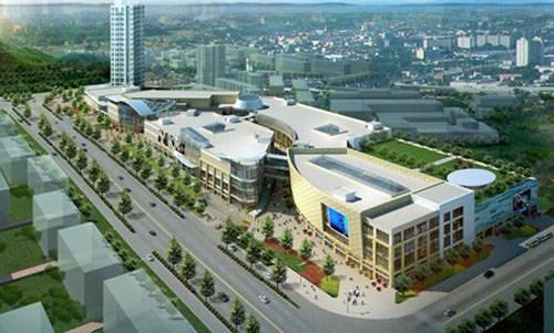 作为一站式商业综合体,世纪港湾商业广场代言秦皇岛商业未来.