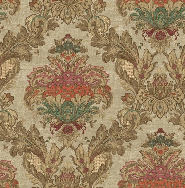 因此这些刺绣的花纹图案,大都以欧洲皇室贵族的家族图腾或花纹为代表