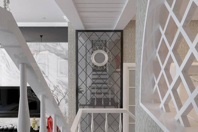 黑白潮流设计空间 西引利后现代风格(组图)