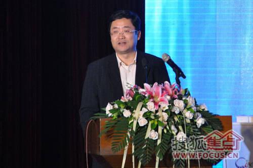 青岛市崂山区委常委,副区长 张军先生致辞