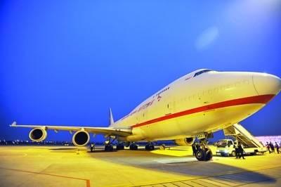 """苏南机场迎来首架""""大飞机"""""""