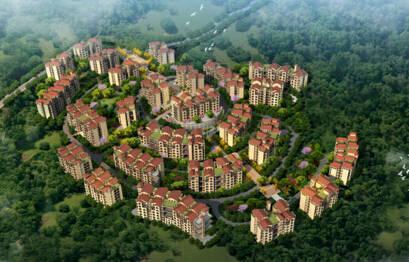 天池三号旅游地产项目位于贵州省桐梓县九坝镇,该项目总体规模30万