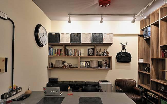 28平米迷你复古工业风小户型公寓