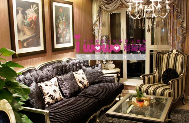 丽都10号60平米一居客厅装修设计图片