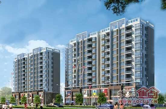 庞公春晓项目整个建筑风格以现代简约为主,整个项目建筑占地面积为图片