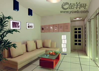主卧室进门的左边墙希望做个衣柜,对门墙摆放小书架(兼电脑桌),主卧床
