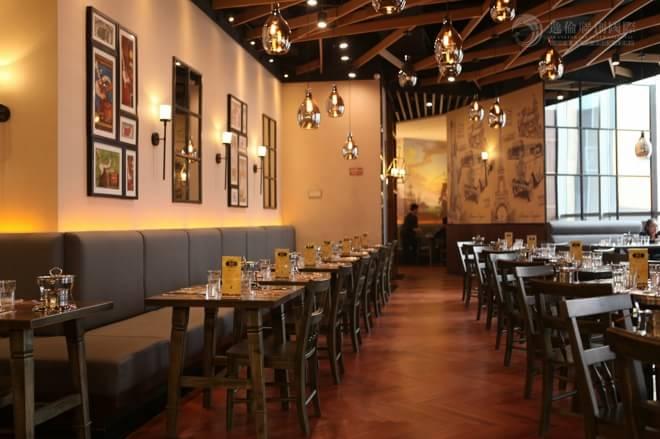 尉建:1178海鲜自助餐厅 创造设计的附加值 效果图  效果图 设计师