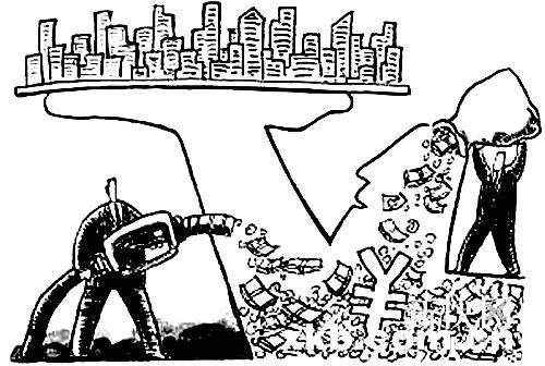 蜗牛工人简笔画