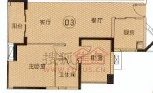 目前首先推出的第4栋住宅楼户型长条型设计,大面宽短进深,通风采光
