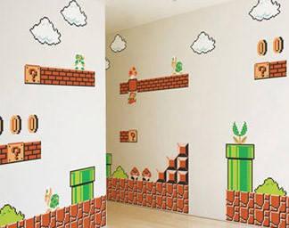 家装新宠:国外创意墙体手绘丙烯画