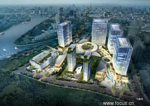 郑州绿地会展宾馆项目均由世界