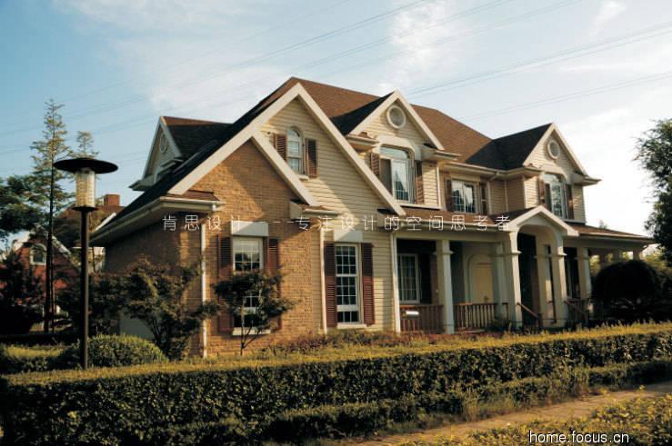 简欧式乡村风格别墅设计