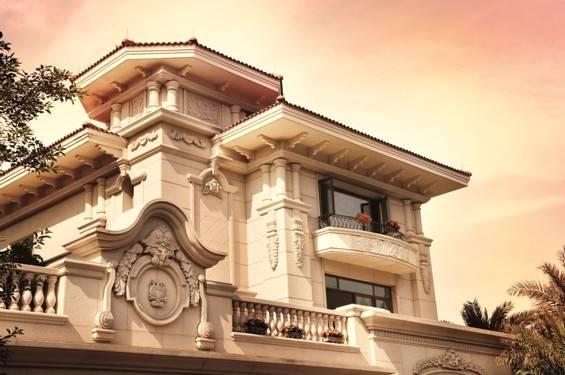 所有的建材配件都是高端品牌,力求打造名副其实的顶级豪华别墅.