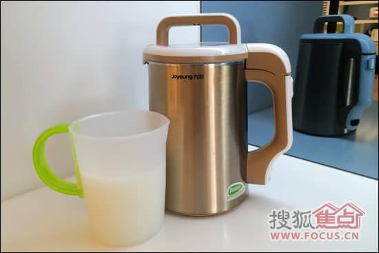 九阳植物奶牛豆浆机d81sg评测