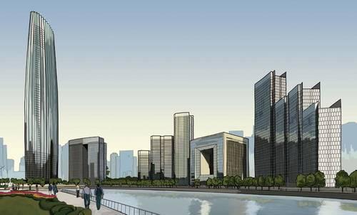 北京建筑手绘图